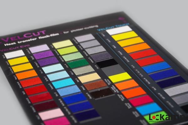 SEF Farbkarte VelCut Evo/Premium/Touch