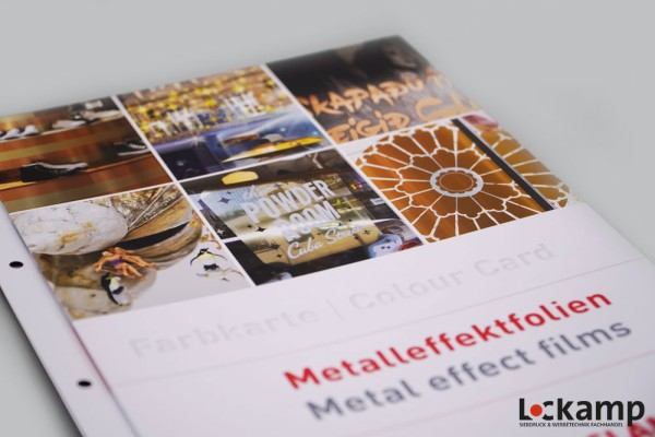 Farbkarte Aslan Metalleffektfolien