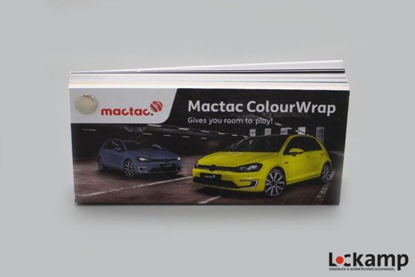 Farbfächer mactac ColourWrap