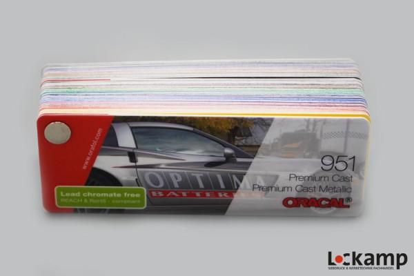Farbfächer ORACAL 951 Premium Cast