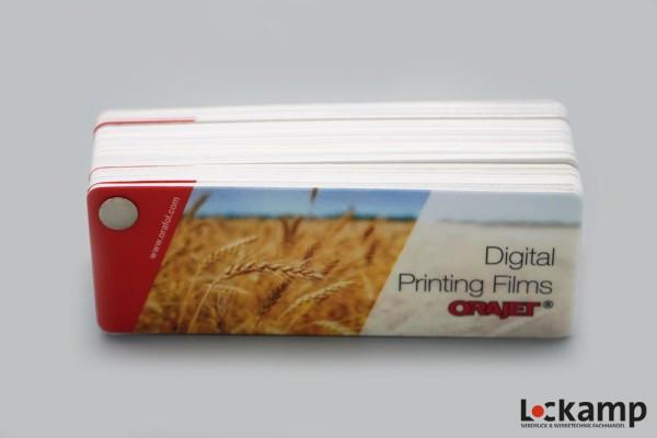 Farbfächer ORAJET Digital Printing Films