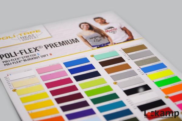 Farbkarte POLI-FLEX Premium