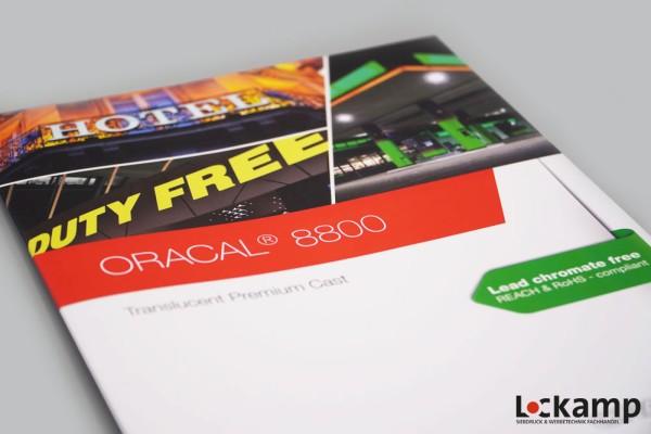 Farbkarte ORACAL 8800 Translucent Premium Cast