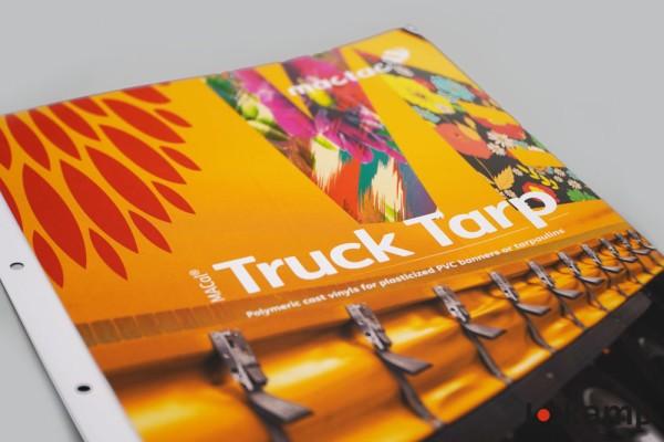 Farbkarte Mactac MACal Truck Tarp