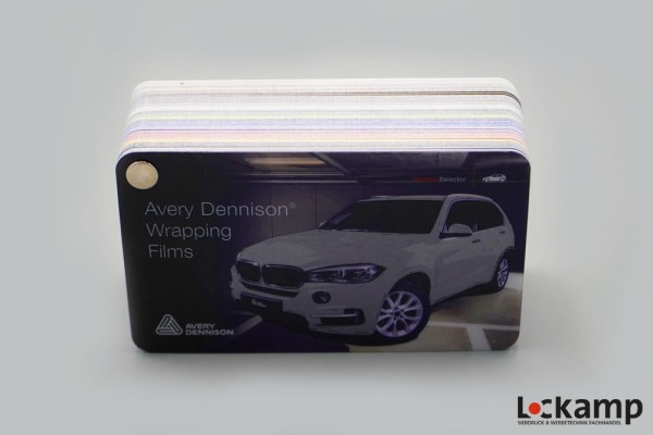 Farbfächer Avery Dennison Supreme Wrapping Films