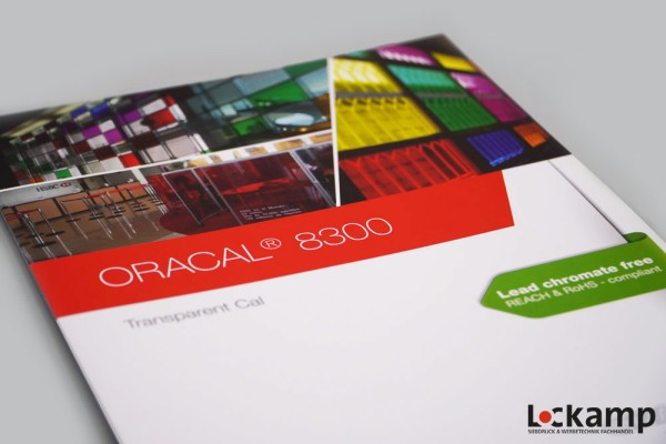 Farbkarte ORACAL 8300 Transparent Cal